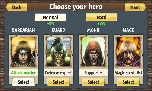 Screenshots of the Top of war game for iPhone, iPad or iPod.