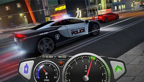 Kostenloses iPhone-Game Top Speed: Drag & Fast Racing herunterladen.