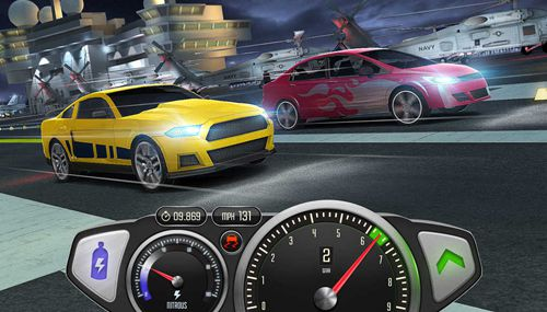 Kostenloser Download von Top speed: Drag and fast racing für iPhone, iPad und iPod.