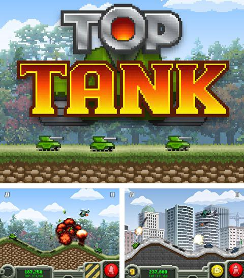In addition to the game Falling gems for iPhone, iPad or iPod, you can also download Top tank for free.