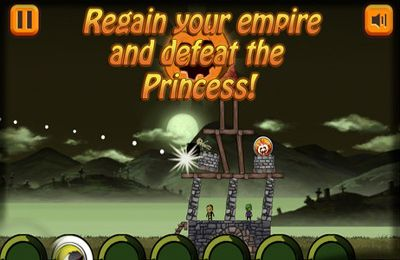 iPhone、iPad または iPod 用Toppling Towers: Halloweenゲームのスクリーンショット。