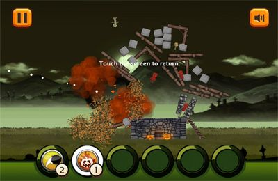 Screenshots vom Spiel Toppling Towers: Halloween für iPhone, iPad oder iPod.