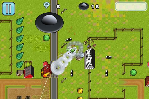 Screenshots of the Tornado mania! game for iPhone, iPad or iPod.