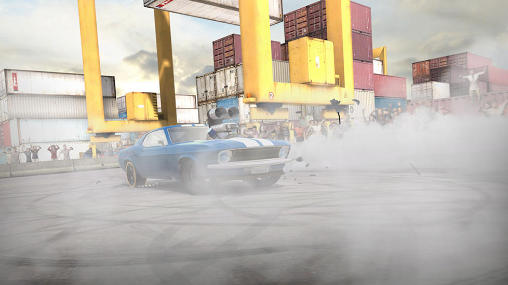 Screenshots of the Torque burnout game for iPhone, iPad or iPod.