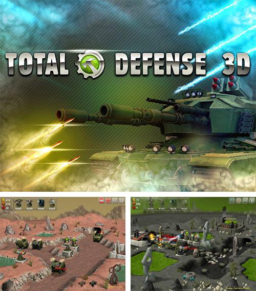 In addition to the game 737 flight simulator for iPhone, iPad or iPod, you can also download Total defense 3D for free.