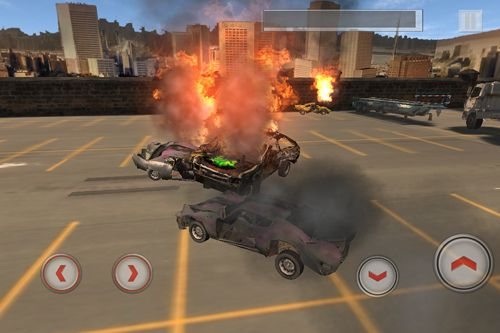 Screenshots of the Total destruction: Derby racing game for iPhone, iPad or iPod.