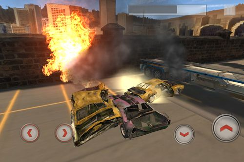 Download Total destruction: Derby racing iPhone free game.