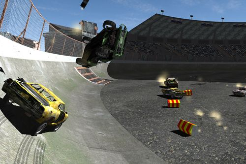 Free Total destruction: Derby racing download for iPhone, iPad and iPod.