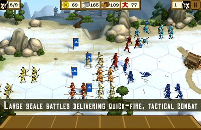 Screenshots vom Spiel Total War Battles für iPhone, iPad oder iPod.