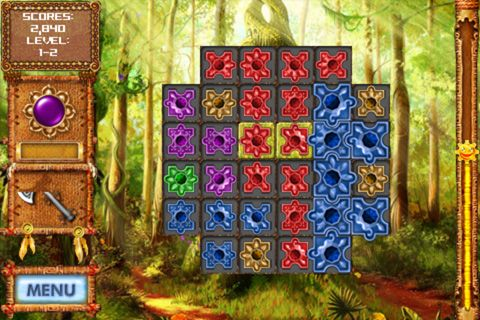 Screenshots of the Totem quest game for iPhone, iPad or iPod.