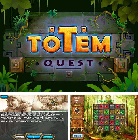 In addition to the game Guess the melody with friends for iPhone, iPad or iPod, you can also download Totem quest for free.