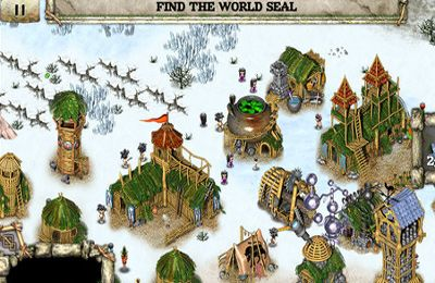 Screenshots do jogo Totem Tribe Gold para iPhone, iPad ou iPod.