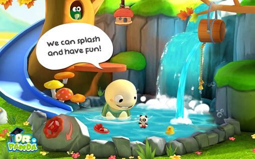 Screenshots of the Toto's treehouse game for iPhone, iPad or iPod.