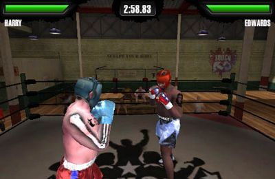 Screenshots of the Touch KO game for iPhone, iPad or iPod.