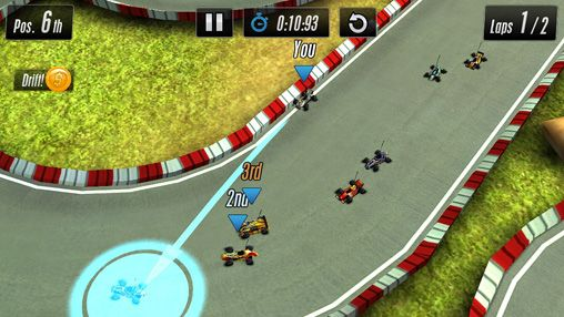 Screenshots of the Touch racing 2 game for iPhone, iPad or iPod.