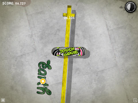 Capturas de pantalla del juego Touchgrind para iPhone, iPad o iPod.