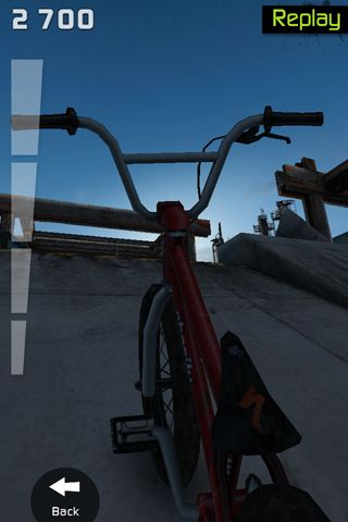 Screenshots do jogo Touchgrind BMX para iPhone, iPad ou iPod.