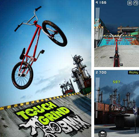 In addition to the game Sky Racer 2 for iPhone, iPad or iPod, you can also download Touchgrind BMX for free.