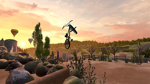 Screenshots of the Touchgrind BMX 2 game for iPhone, iPad or iPod.