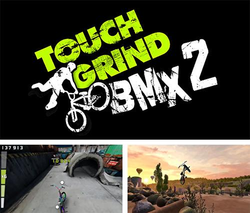 In addition to the game Glow jeweled for iPhone, iPad or iPod, you can also download Touchgrind BMX 2 for free.