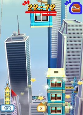 Screenshots vom Spiel Tower Bloxx New York für iPhone, iPad oder iPod.