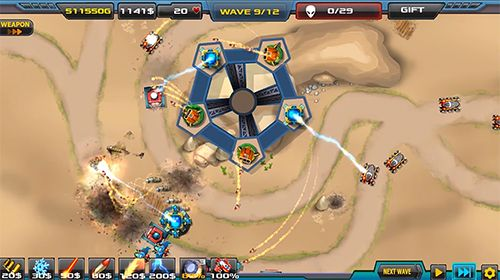 iPhone、iPad および iPod 用のTower defense: Alien war TD 2の無料ダウンロード。