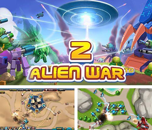 In addition to the game Telepaint for iPhone, iPad or iPod, you can also download Tower defense: Alien war TD 2 for free.