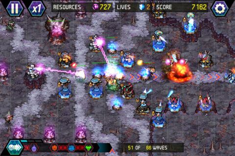 Descarga gratuita de Tower defense: Lost Earth para iPhone, iPad y iPod.