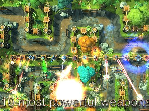 Descarga gratuita de Tower defense: The kingdom para iPhone, iPad y iPod.