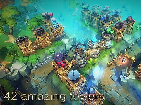 Capturas de pantalla del juego Tower defense: The kingdom para iPhone, iPad o iPod.