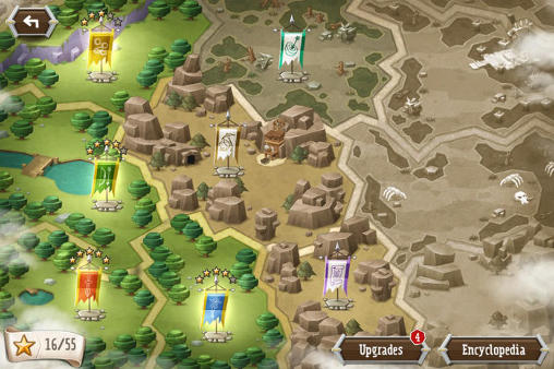 Écrans du jeu Tower dwellers: Gold pour iPhone, iPad ou iPod.