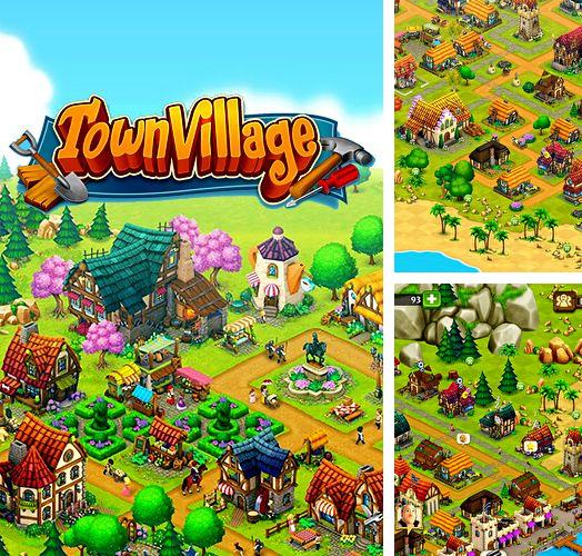 Download Town village: Farm, build, trade iPhone free game.