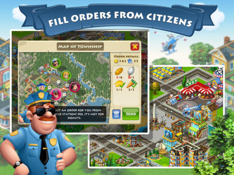 Download Township iPhone free game.