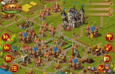 Screenshots of the Townsmen Premium game for iPhone, iPad or iPod.