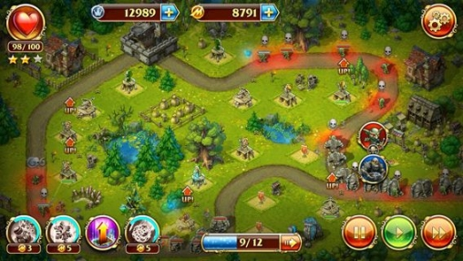 Free Toy defense 3: Fantasy download for iPhone, iPad and iPod.