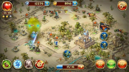 Screenshots of the Toy defense 3: Fantasy game for iPhone, iPad or iPod.