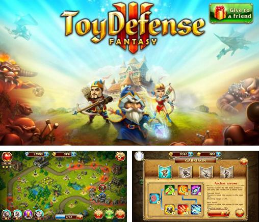 In addition to the game Samurai 2: Vengeance for iPhone, iPad or iPod, you can also download Toy defense 3: Fantasy for free.