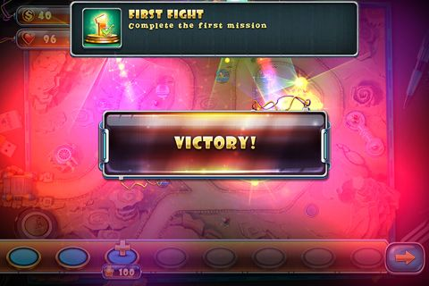 Screenshots of the Toy defense 4: Sci-Fi game for iPhone, iPad or iPod.