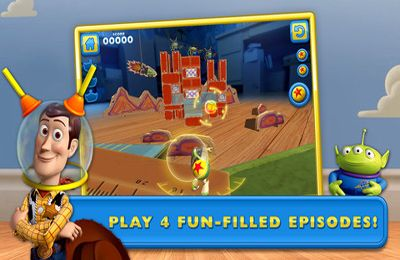 Download Toy Story: Smash It! iPhone free game.