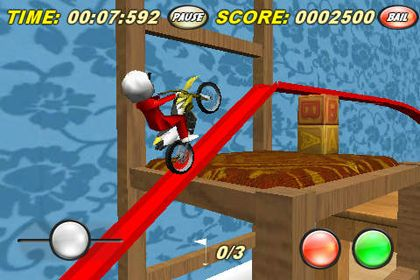 Descarga gratuita de Toy Stunt Bike para iPhone, iPad y iPod.