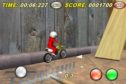 Écrans du jeu Toy Stunt Bike pour iPhone, iPad ou iPod.