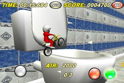 Écrans du jeu Toy Stunt Bike 2 pour iPhone, iPad ou iPod.