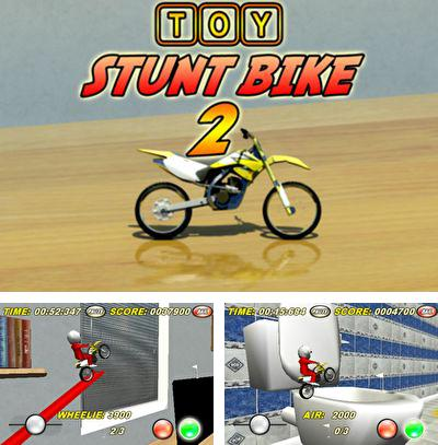 In addition to the game Burning Run for iPhone, iPad or iPod, you can also download Toy Stunt Bike 2 for free.