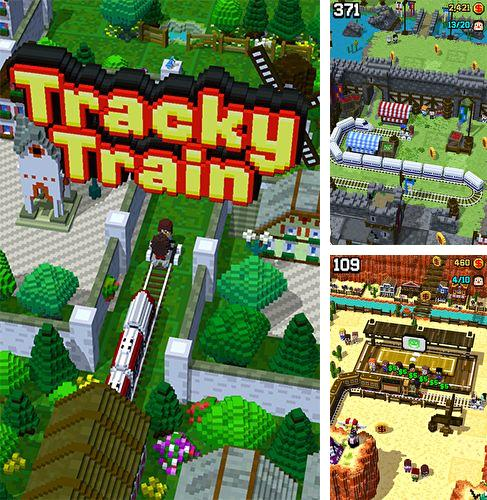 In addition to the game Caveman jump for iPhone, iPad or iPod, you can also download Tracky train for free.