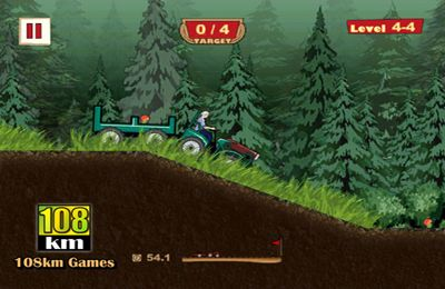 Screenshots of the Tractor Hero game for iPhone, iPad or iPod.