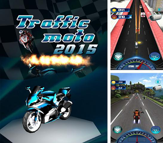 Kostenloses iPhone-Game Traffic Death Moto 2015 See herunterladen.