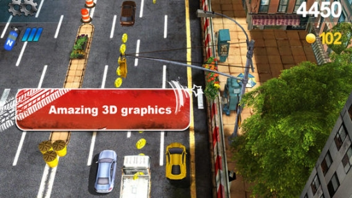 Capturas de pantalla del juego Traffic hunting para iPhone, iPad o iPod.