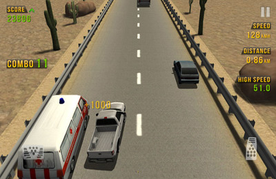 Screenshots do jogo Traffic Racer para iPhone, iPad ou iPod.