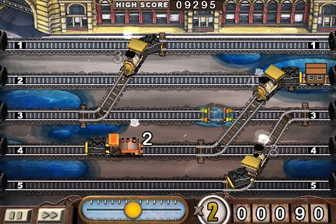 Capturas de pantalla del juego Train conductor para iPhone, iPad o iPod.