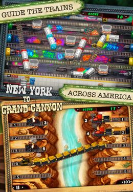 Скачати гру Train Conductor 2: USA для iPad.